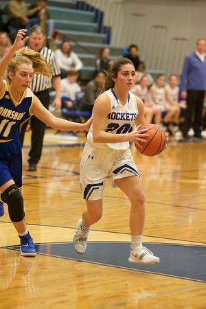 Burlington Central girls basketball vs. Johnsburg