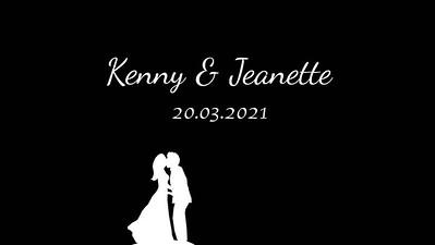 20.03 Kenny & Jeanette's wedding