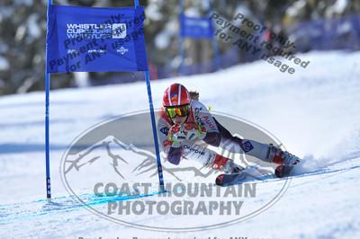 Whistler Cup 2012 - K2 Girls Super G