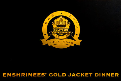 Enshrinees' Gold Jacket Dinner