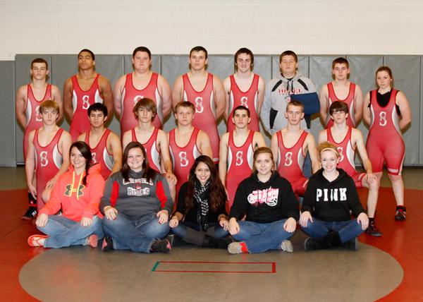 SNHS Wrestling Team 2013