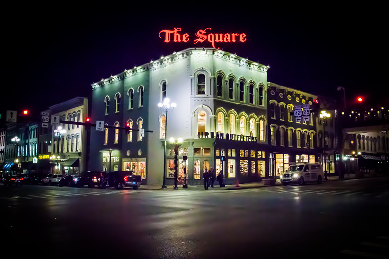 The Square in Downtown Lexington