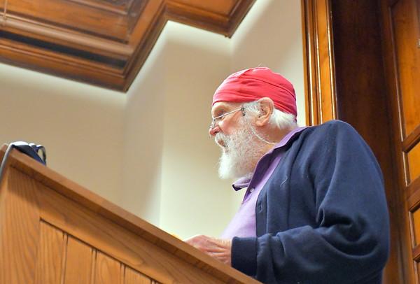 Poetry Recital At  NWPL 041218