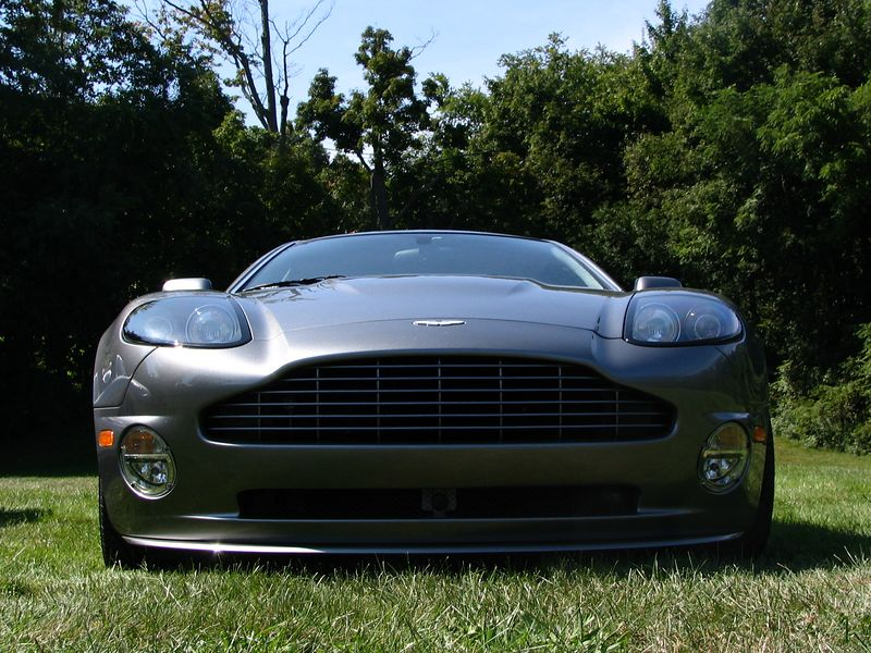 Aston Martin Vanquish S at Mercedes-Benz Day 2005 at the Museum of Transportation