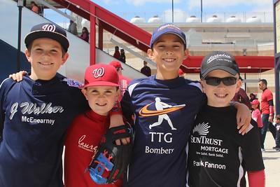 Little League at Nationals Park