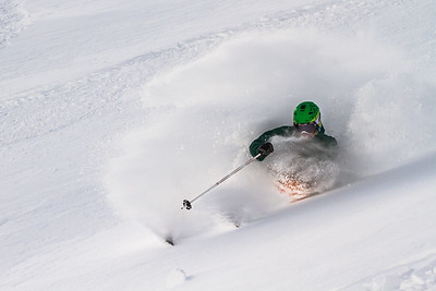 Keegan Capel at Lake Louise