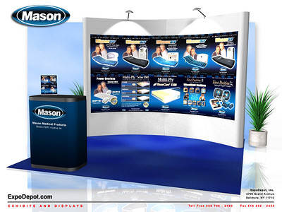 Mason Medical Curved PopUp