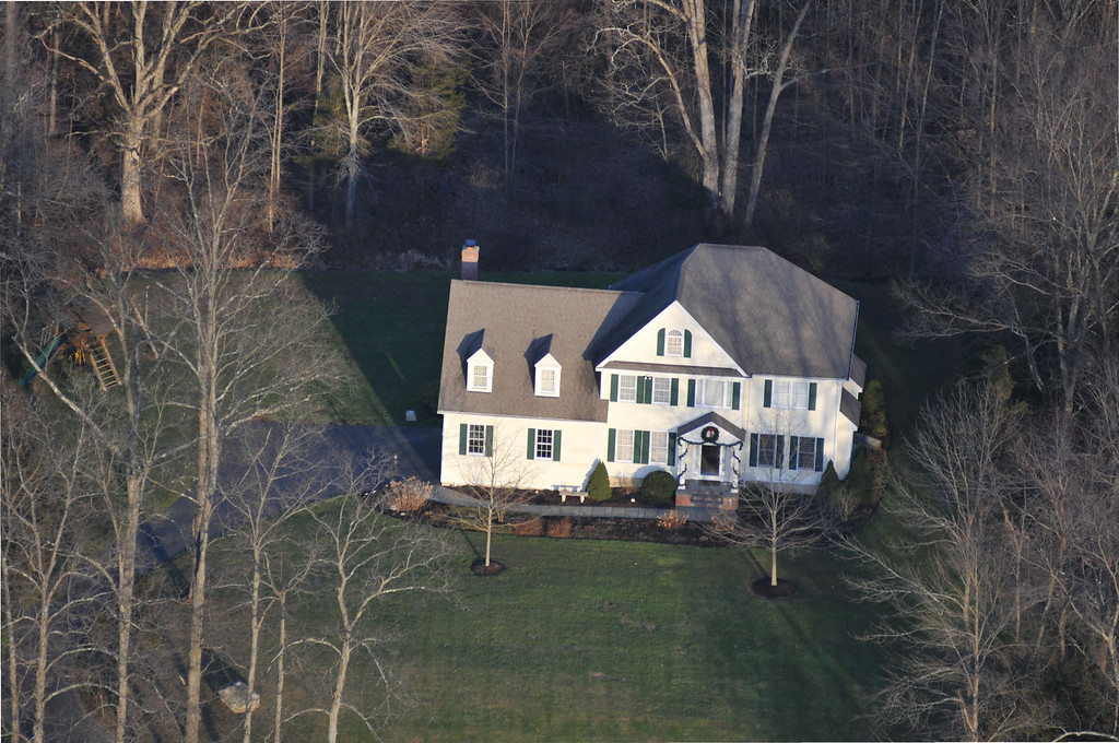 . In this handout crime scene evidence photo provided by the Connecticut State Police, shows the suspect\'s house on Yogananda St. following the December 14, 2012 shooting rampage at Sandy Hook Elementary School, taken on an unspecified date in Newtown, Connecticut.  (Photo by Connecticut State Police via Getty Images)