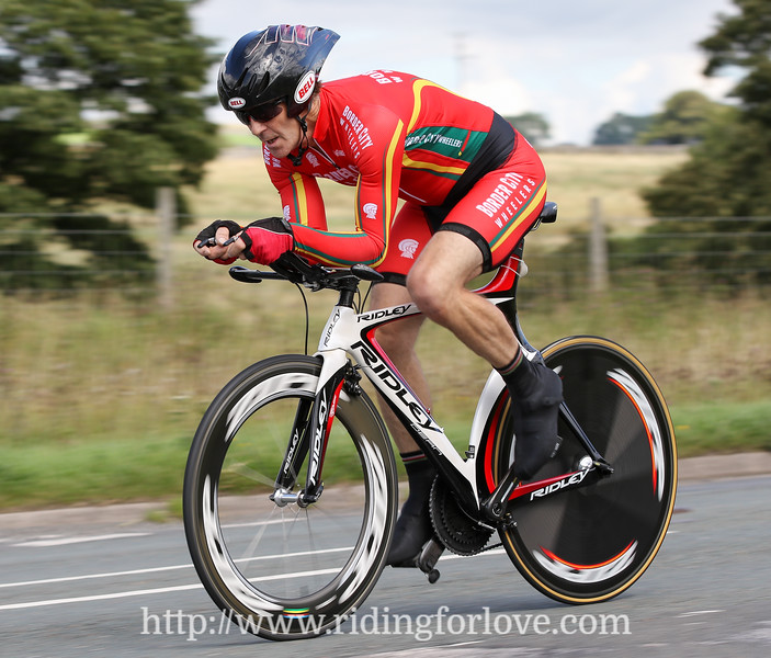 Border City Wheelers 10 mile TT 26th August 2017, Newbiggin on Lune