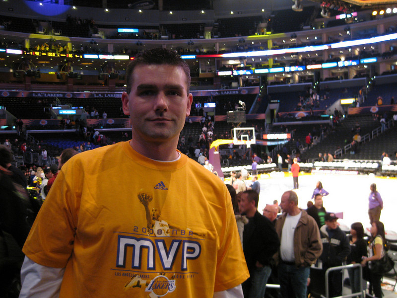 Lakers Game 2008