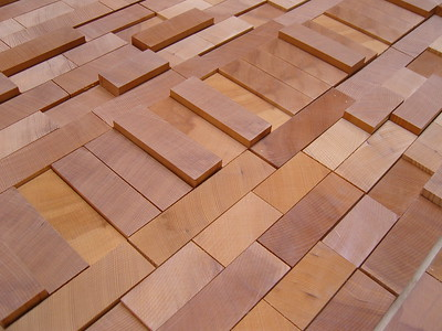 Wood patterns milled or natural
