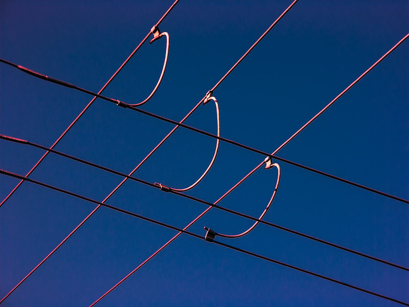 Wires, Campbell, California, 2005