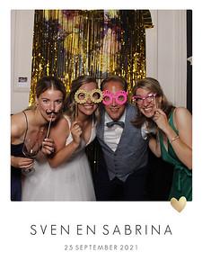 Bruiloft Sven en Sabrina