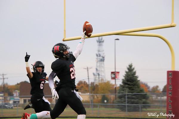 HHS 2018 Football - 11-03 Second Round Playoffs