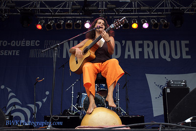 Marianne Aya Omac at the Montreal 2010 Nuits d'Afrique