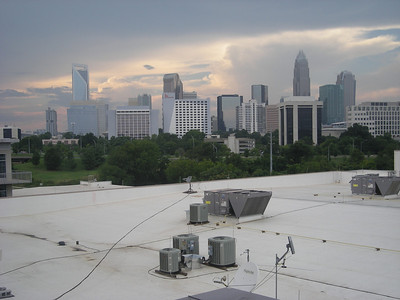 Charlotte in the evening 7/2010