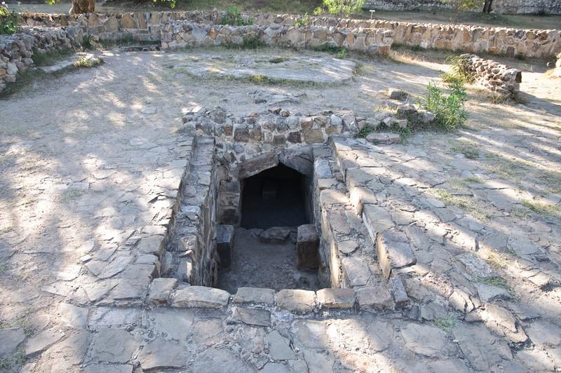 Monte Alban Ball Tomb