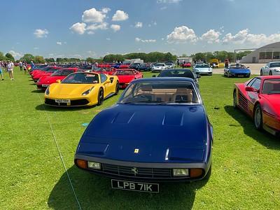 National Ferrari Owners Day 2021 - Sywell Aerodrome