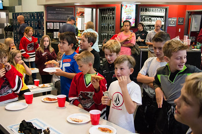 8/25/17 End of Season Pizza Party