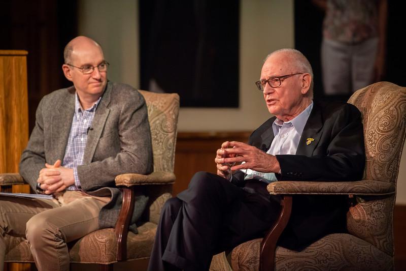 Rector Scholar Conversation with Lee Hamilton