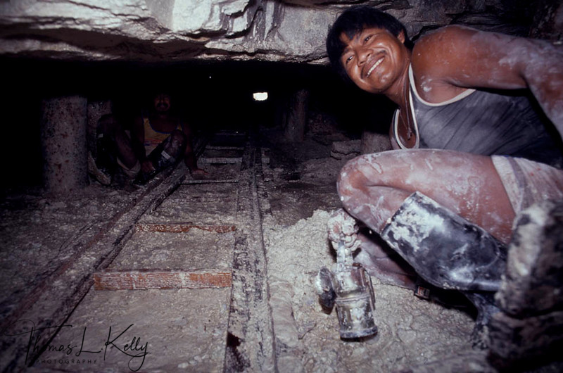 Gold Mining in Vaupes Basin. Fighting between the Columbian Indigenous people of Columbia are fighting to preserve their natural habitat form the whites. Makuna, Vaupes Basin, Eastern Colombia Amazon.
