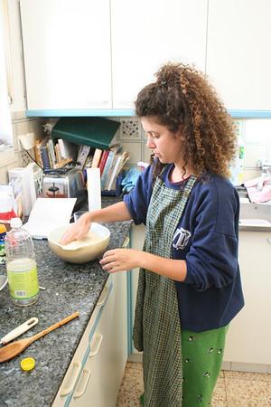 Timna making kubeh