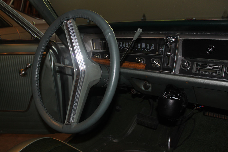 Instrument cluster before modifications - passenger side