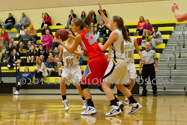Girls Varsity Basketball # 23 - 2011