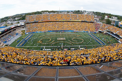 WVU vs Maryland Halftime - September 26, 2015