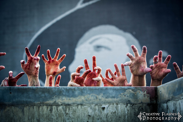 Red, White & Dead Zombie Walk 2012