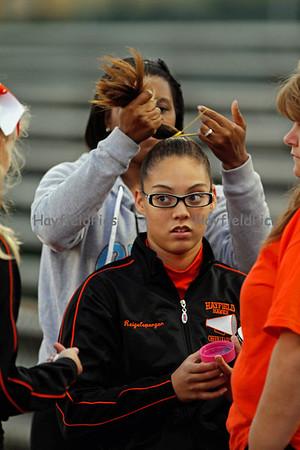 Cheerleaders Wakefield 10/6/11