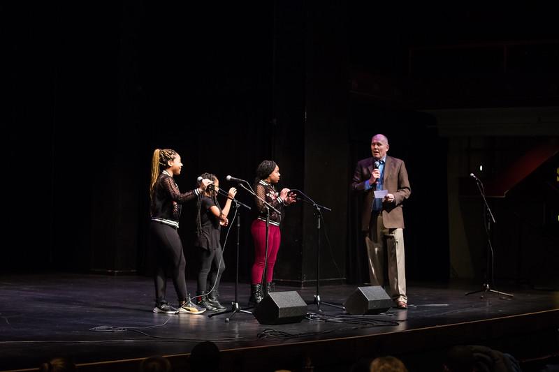 Perfomance at McGlohen Theatre