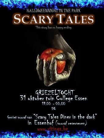 Halloween wandeling Scary Tales 31-10-2017