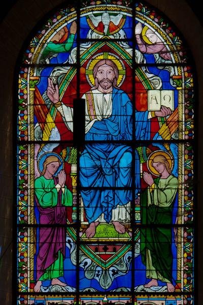 Angouleme Cathedral - Christ in Ascension