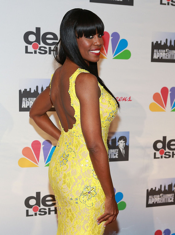 """. Omarosa attends \""""All Star Celebrity Apprentice\"""" Finale at Cipriani 42nd Street on May 19, 2013 in New York City.  (Photo by Robin Marchant/Getty Images)"""