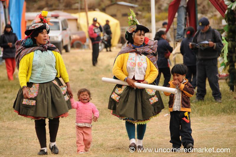 Dressed Up for the Fair - Huancavelica, Peru