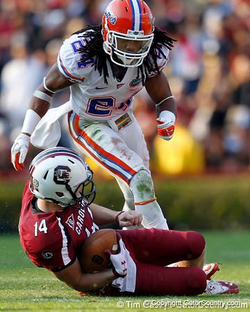 Photo Gallery: UF football at South Carolina, 11/12/11
