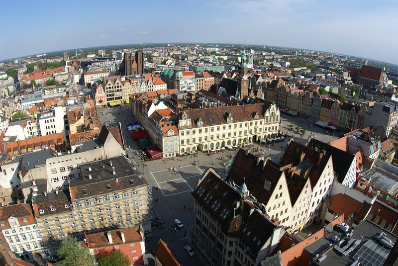 View of Wroclaw.