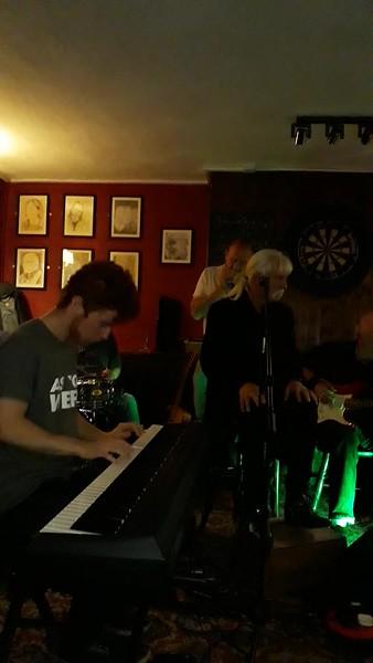 Me playing with The Hokam Boys, Help Me- Sonny Boy Williamson