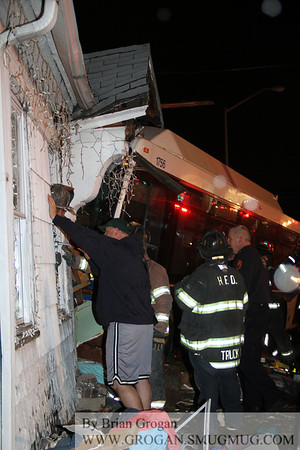 Fulton and Nassau Fatal Bus into house 11/27/12