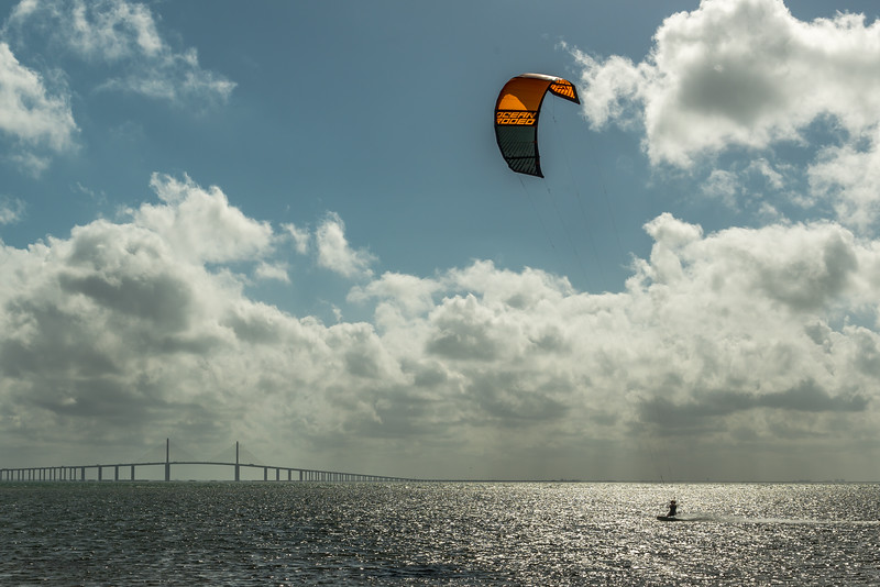 Kiteboard and Skyway 2