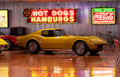 1971 Gold Coupe LS6