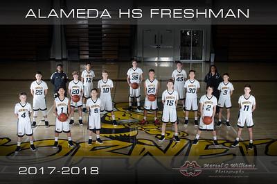 2018 Alameda High Basketball Freshman