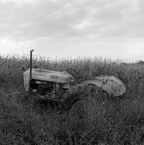 Abandoned Tractor, near Knoxboro, NY. October 2014