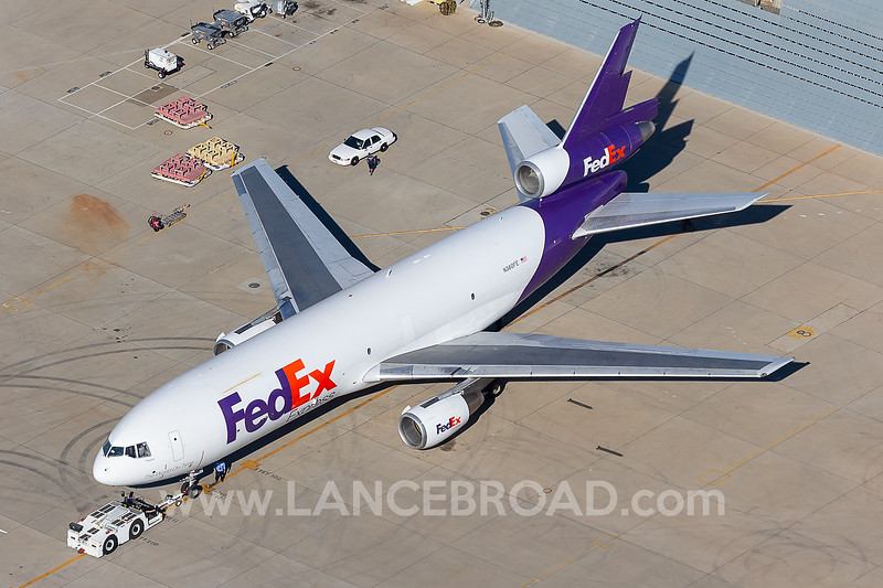 FedEx MD-10-10F - N360FE - LAX