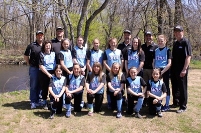 2013 Devils Softball