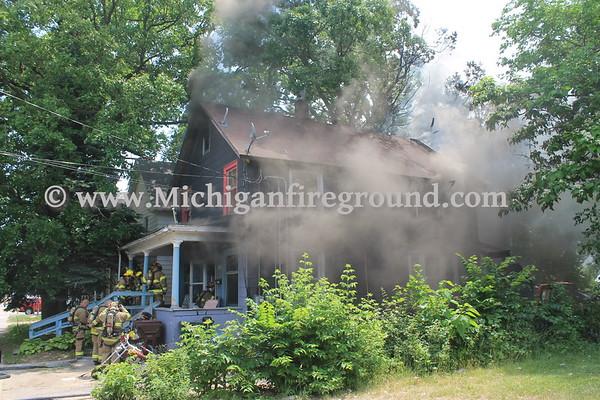 6/13/17 - Lansing house fire, 902 E. Kalamazoo