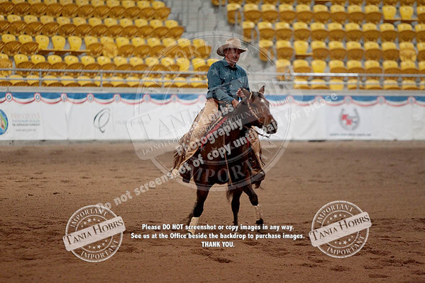 Day One Reining Sunday 12 April