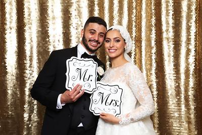 Khalid and Farrah Wedding Photo Booth  Pnotos