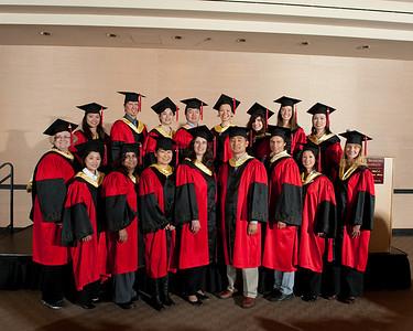 Graduation - Santana Row Oct 2009 - Group Photos